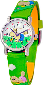 мужские часы Tik-Tak H101-2-zelenaja-loshad. Коллекция Тик-Так