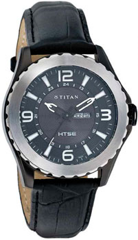 мужские часы Titan 1572KL02. Коллекция EDGE