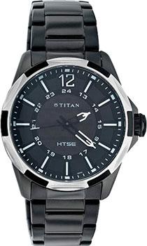 мужские часы Titan 1573KM01. Коллекция EDGE