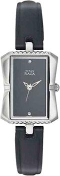 женские часы Titan 2495SL01. Коллекция RAGA