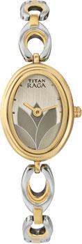 женские часы Titan 2511BM01. Коллекция RAGA
