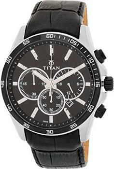 мужские часы Titan 90022KL01J. Коллекция CLASSIC от Bestwatch.ru
