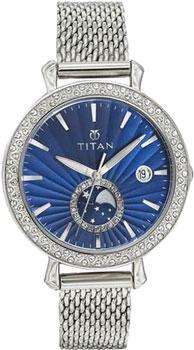 женские часы Titan 95015SM01J. Коллекция PURPLE