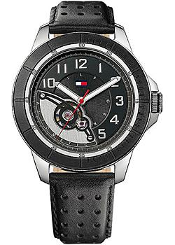 fashion наручные мужские часы Tommy Hilfiger 1710263. Коллекция Automatic