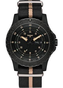 Швейцарские наручные мужские часы Traser TR.100232. Коллекция Professional