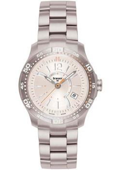 Швейцарские наручные  женские часы Traser TR.100273. Коллекция Ladytime