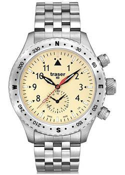 Швейцарские наручные  мужские часы Traser TR.100372. Коллекци Aviator