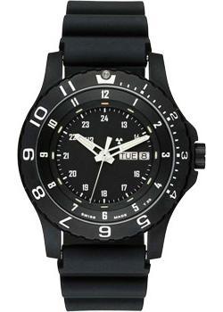 Швейцарские наручные  мужские часы Traser TR.100376. Коллекци Military