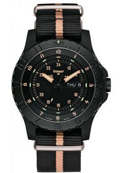 Швейцарские наручные мужские часы Traser TR.104708. Коллекция Professional