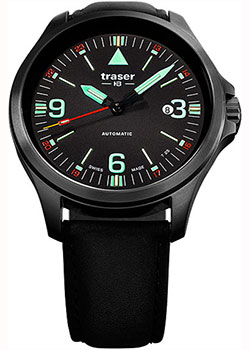 Швейцарские наручные мужские часы Traser TR.108075. Коллекция Professional фото