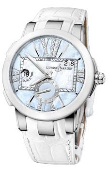 Швейцарские наручные  женские часы Ulysse Nardin 243-10-393 от Bestwatch.ru