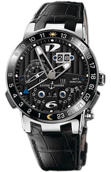 Ulysse Nardin Швейцарские наручные  мужские часы Ulysse Nardin 320-00