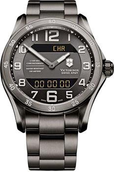 Швейцарские наручные  мужские часы Victorinox Swiss Army 241300. Коллекция Chrono Classic