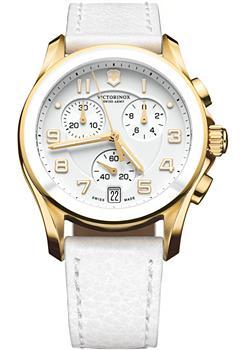 Швейцарские наручные  женские часы Victorinox Swiss Army 241511. Коллекция Chrono Classic