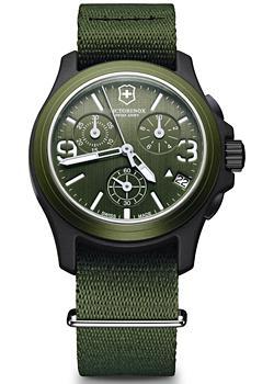 Купить Швейцарские наручные мужские часы Victorinox Swiss Army 241531. Коллекция Original