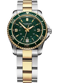 Швейцарские наручные  женские часы Victorinox Swiss Army 241612. Коллекция Maverick GS