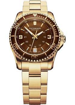 Швейцарские наручные  женские часы Victorinox Swiss Army 241614. Коллекция Maverick GS