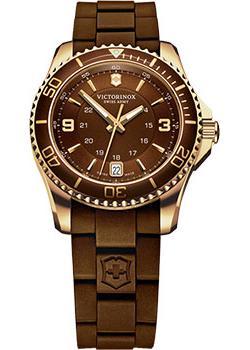 Швейцарские наручные  женские часы Victorinox Swiss Army 241615. Коллекция Maverick GS
