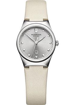 Швейцарские наручные  женские часы Victorinox Swiss Army 241634. Коллекция Victoria