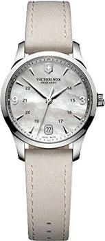 Швейцарские наручные  женские часы Victorinox Swiss Army 241662. Коллекция Alliance