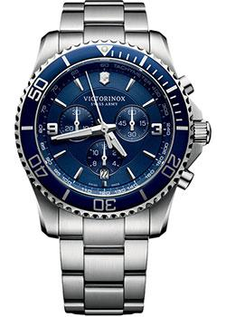 Швейцарские наручные  мужские часы Victorinox Swiss Army 241689. Коллекция Maverick Chrono