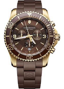 Швейцарские наручные  мужские часы Victorinox Swiss Army 241692. Коллекция Maverick Chrono