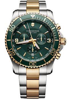 Швейцарские наручные  мужские часы Victorinox Swiss Army 241693. Коллекция Maverick Chrono
