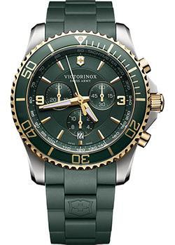 Швейцарские наручные  мужские часы Victorinox Swiss Army 241694. Коллекция Maverick Chrono