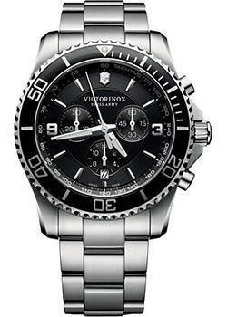 Швейцарские наручные  мужские часы Victorinox Swiss Army 241695. Коллекция Maverick Chrono