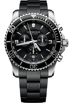 Швейцарские наручные  мужские часы Victorinox Swiss Army 241696. Коллекция Maverick Chrono