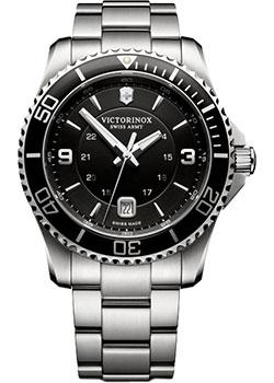 Купить Швейцарские наручные мужские часы Victorinox Swiss Army 241697. Коллекция Maverick Large