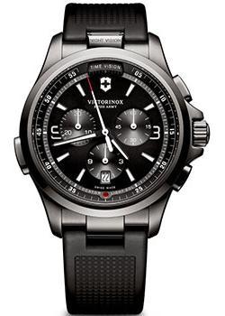 Швейцарские наручные мужские часы Victorinox Swiss Army 241731. Коллекция Night Vision