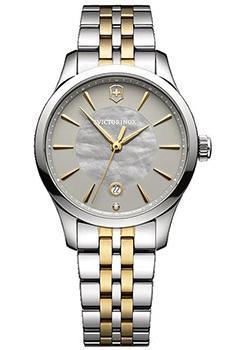 Швейцарские наручные  женские часы Victorinox Swiss Army 241753. Коллекция Alliance