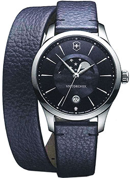 Швейцарские наручные  женские часы Victorinox Swiss Army 241755. Коллекция Alliance