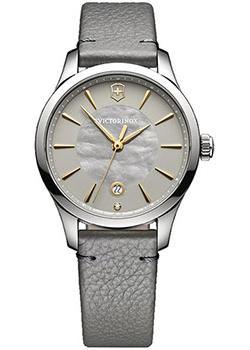 Швейцарские наручные  женские часы Victorinox Swiss Army 241756. Коллекция Alliance