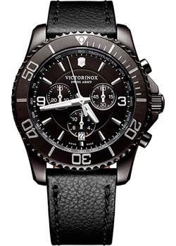 Швейцарские наручные  мужские часы Victorinox Swiss Army 241786. Коллекция Maverick Chrono