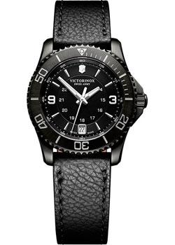 Швейцарские наручные  женские часы Victorinox Swiss Army 241788. Коллекция Maverick Chrono