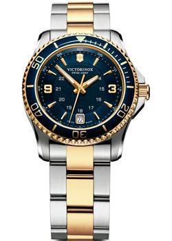 Швейцарские наручные  женские часы Victorinox Swiss Army 241790. Коллекция Maverick Small