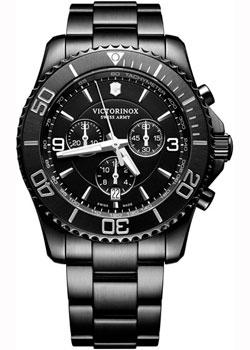 Швейцарские наручные  мужские часы Victorinox Swiss Army 241797. Коллекция Maverick Chrono