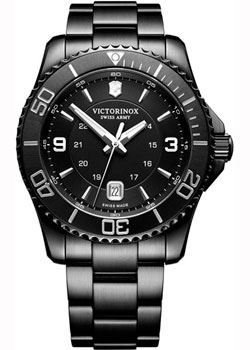 Швейцарские наручные  мужские часы Victorinox Swiss Army 241798. Коллекция Maverick Chrono