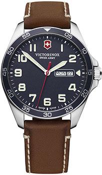 Швейцарские наручные мужские часы Victorinox Swiss Army 241848. Коллекция Fieldforce фото