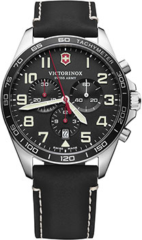 Швейцарские наручные  мужские часы Victorinox Swiss Army 241852. Коллекция Fieldforce Chrono