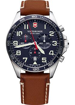 Швейцарские наручные  мужские часы Victorinox Swiss Army 241854. Коллекция Fieldforce Chrono
