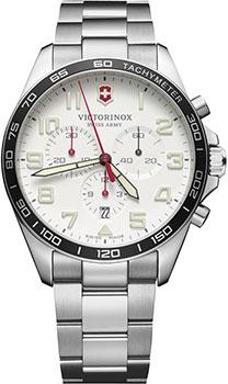 Швейцарские наручные  мужские часы Victorinox Swiss Army 241856. Коллекция Fieldforce Chrono