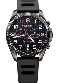 Швейцарские наручные  мужские часы Victorinox Swiss Army 241889. Коллекция Fieldforce Chrono