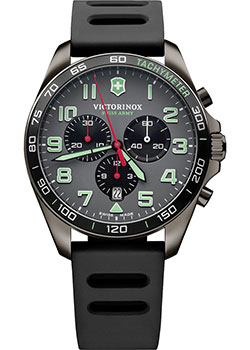 Швейцарские наручные  мужские часы Victorinox Swiss Army 241891. Коллекция Fieldforce Chrono