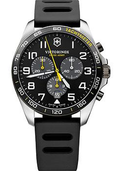 Швейцарские наручные  мужские часы Victorinox Swiss Army 241892. Коллекция Fieldforce Chrono