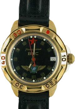 Российские наручные  мужские часы Vostok 439313. Коллекция Командирские