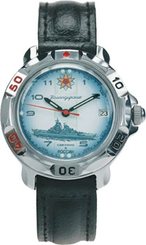 Российские наручные  мужские часы Vostok 811428. Коллекция Командирские Классика