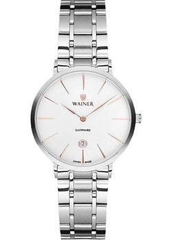 Швейцарские наручные  женские часы Wainer WA.11099B. Коллекция Bach